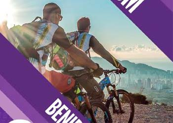 Cycle tourism Benidorm brochure