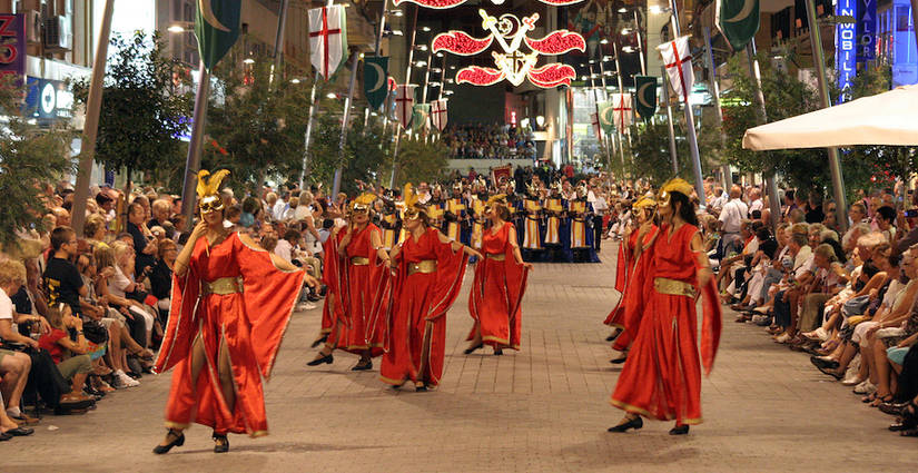Moors and Christians Fiesta Benidorm