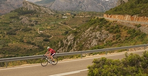 Road Cycling Routes around Benidorm