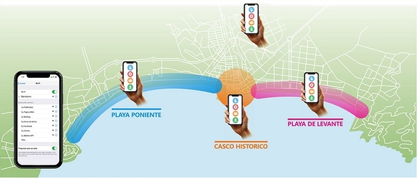 Benidorm Wifi Areas