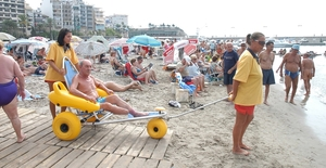 Accessible guide of Benidorm