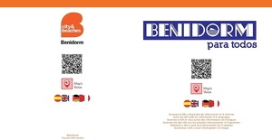Accesible Itinerary Maps 'Old Town'-Visit Benidorm Official