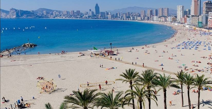 Levante and Poniente Beach